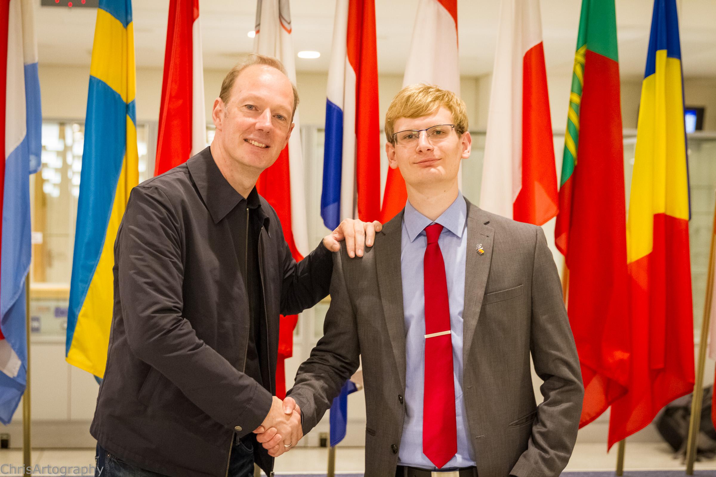 Victor Gogröf und Martin Sonneborn